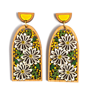 Daisy Statement Earrings