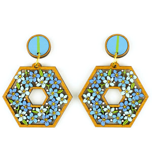 Forget-Me-Nots Earrings
