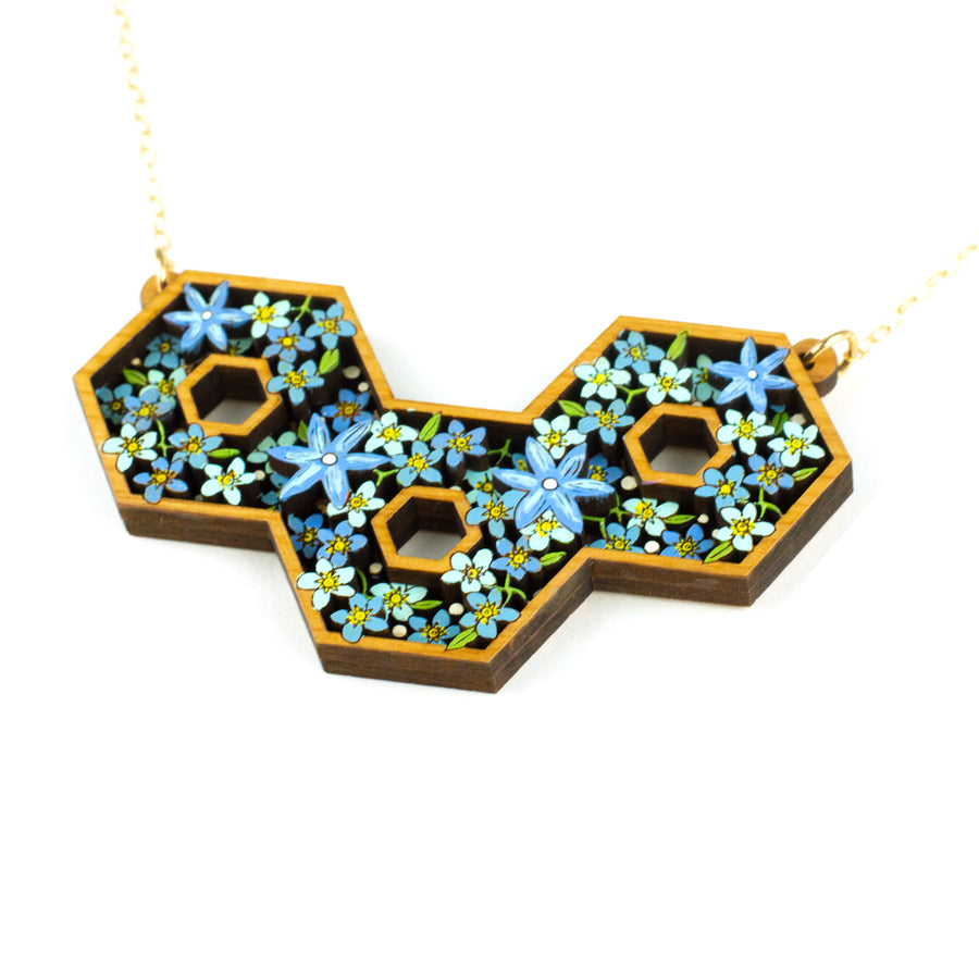 Forget-Me-Nots Necklace
