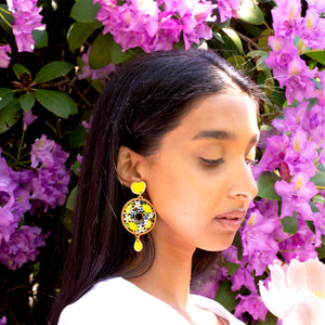 Lemon Drop Earring