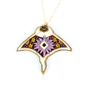 Manta Ray Pendant Necklace