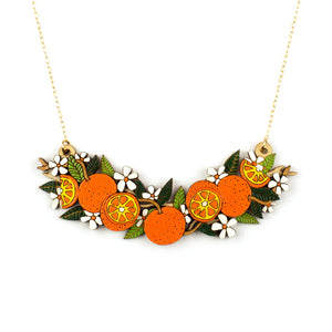 Orange Grove Necklace