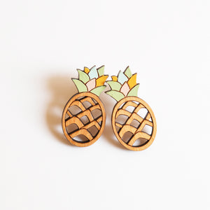 Pineapple Stud Earring