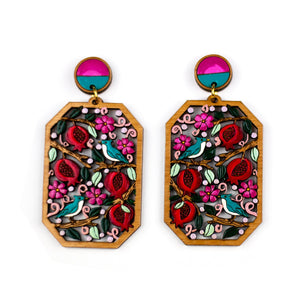 Pomegranate Earring