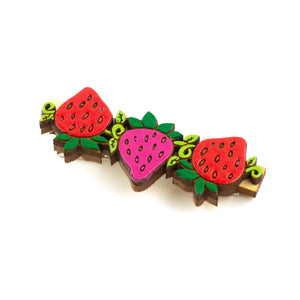 Sweet Strawberry Hair Clip