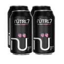 Nutrl 7 Vodka Soda Black Raspberry - 4 x 355mL