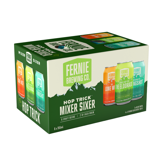 Fernie Brewing Hop Trick Mixer - 6 x 355mL