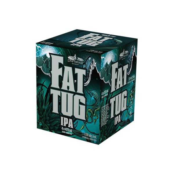 Driftwood Fat Tug IPA - 4 x 473mL