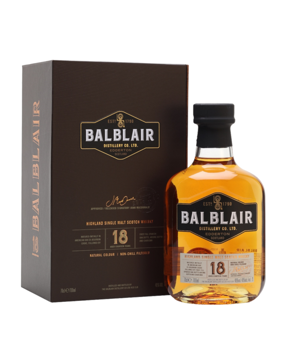 Balblair 18 Year Old Single Malt