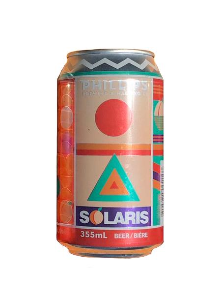 Phillips Solaris White Peach Ale - 6 x 355ml