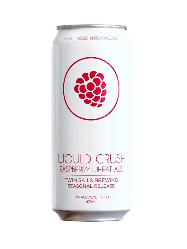 Twin Sails Would Crush Raspberry Wheat Ale - 4 x 473mL