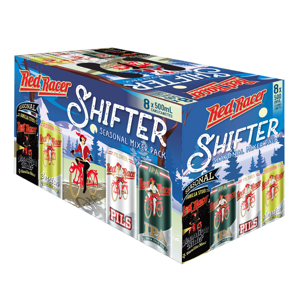 Red Racer Shifter Seasonal Mixer Pack - 8 x 500mL