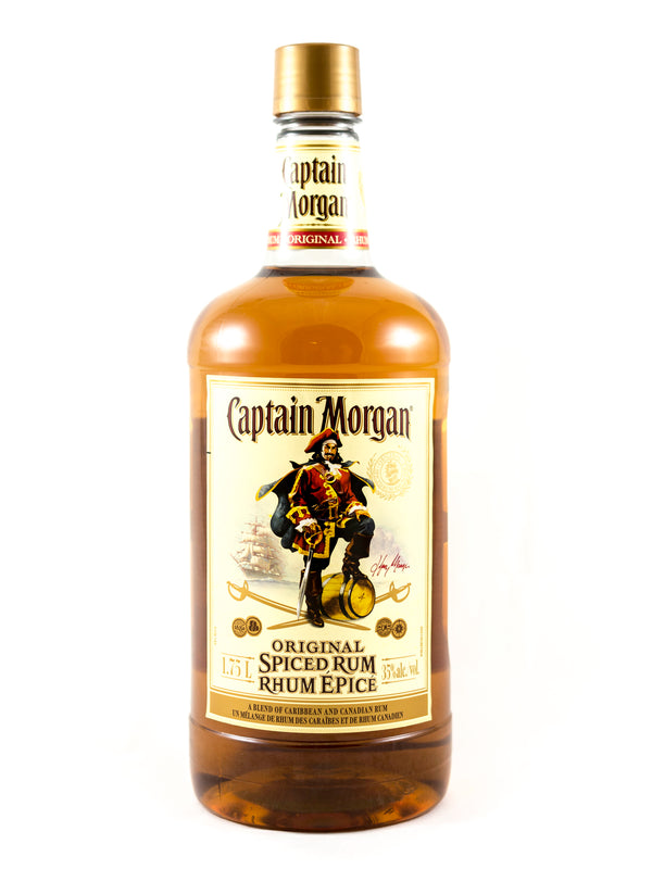 Captain Morgan Spiced Rum - 1.75L
