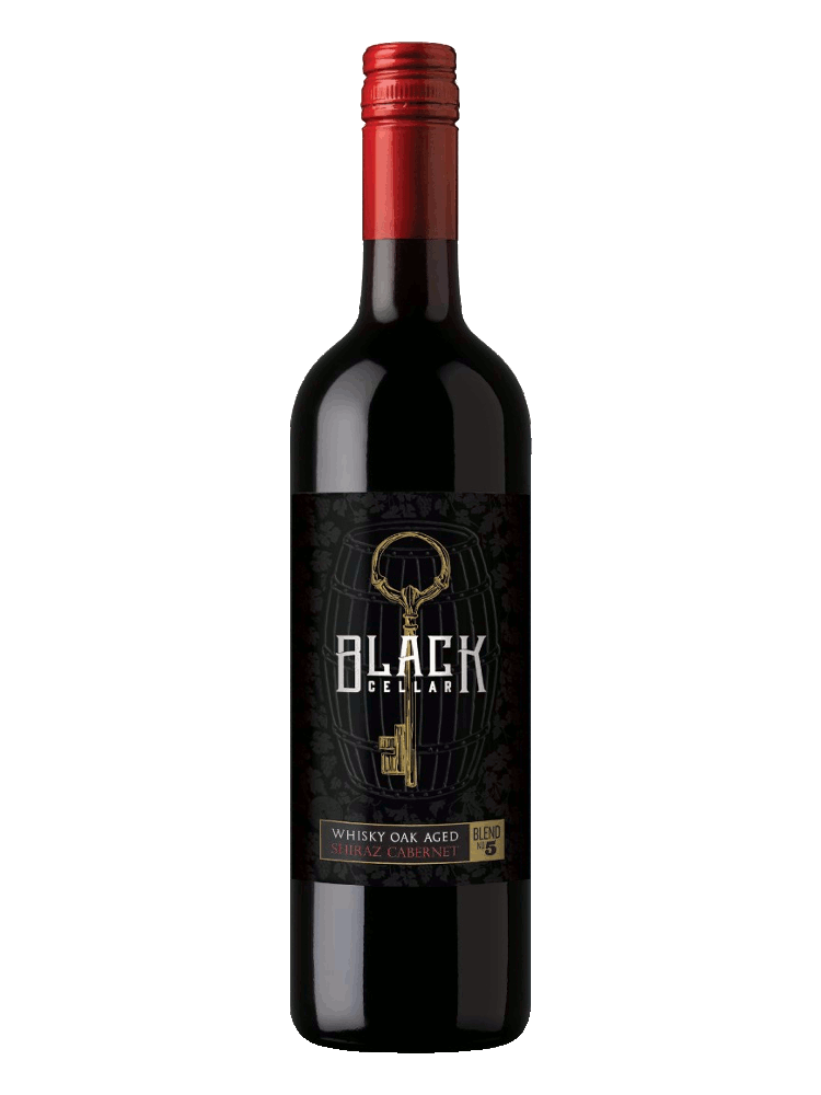 Black Cellar Whisky Oak Aged Shiraz Cabernet