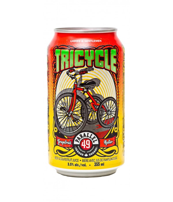 Parallel 49 Tricycle Radler - 6 x 355mL