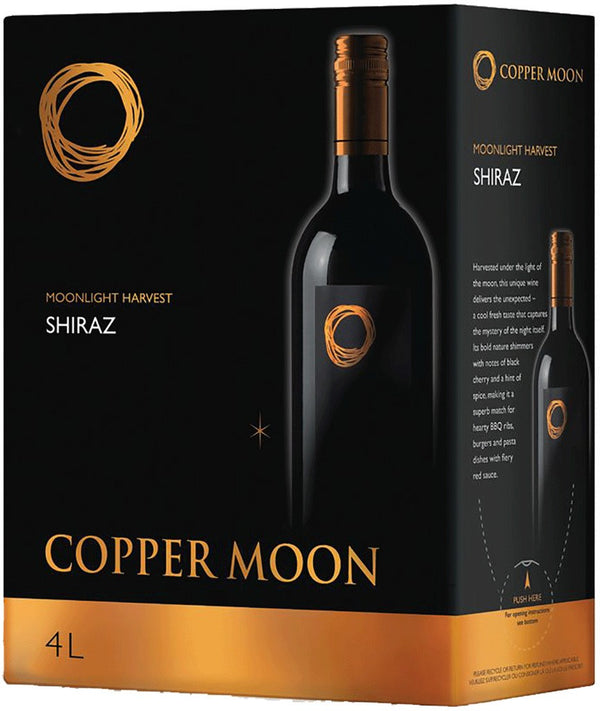 Copper Moon Shiraz - 4L