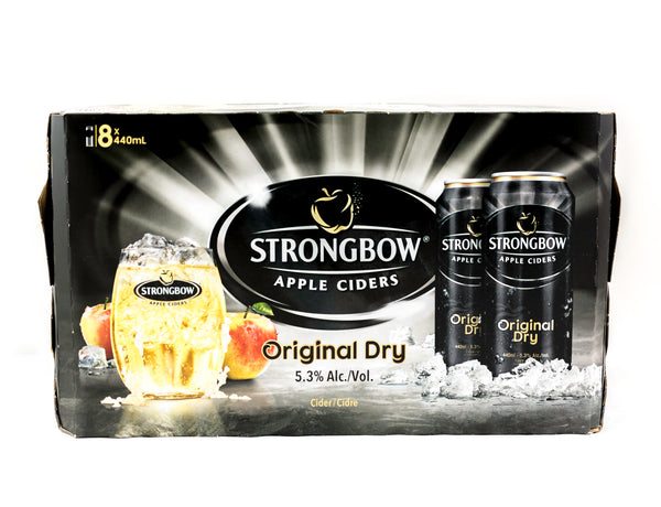 Strongbow Cider - 8 x 440mL