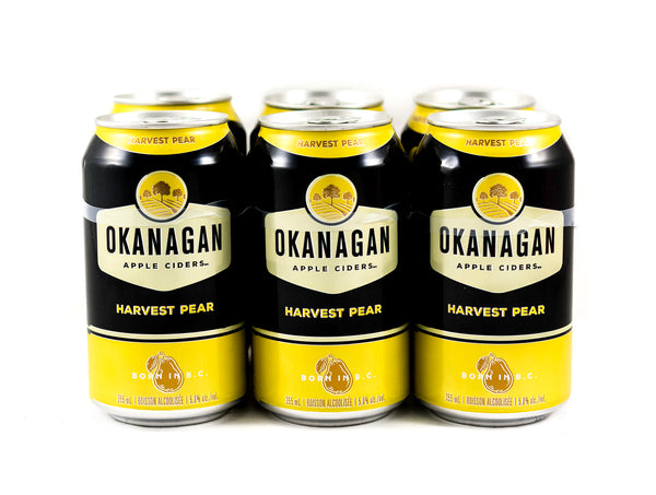Okanagan Harvest Pear Cider - 6 x 355mL