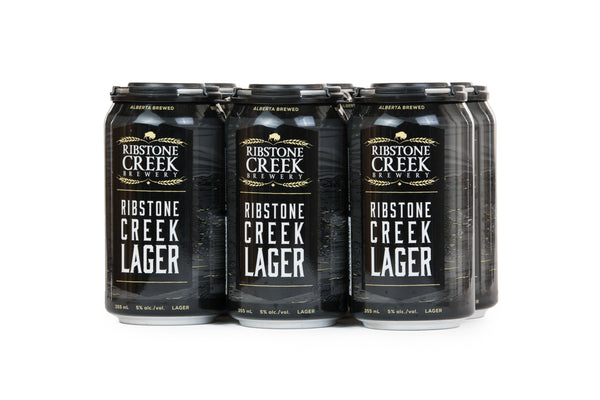 Ribstone Creek Lager - 6 x 355mL