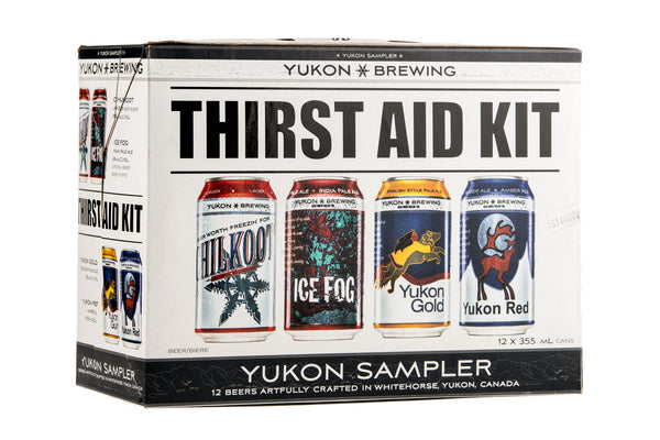 Yukon Brewing Thirst Aid Kit - 12 x 355mL