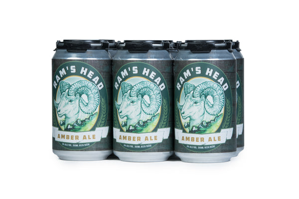 Three Ranges Ram's Head Amber Ale - 6 x 355mL