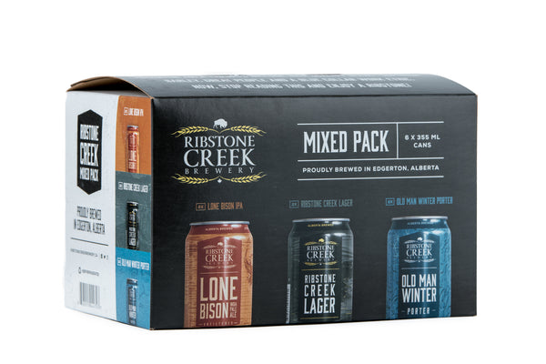 Ribstone Creek Seasonal Mix - 6 x 355mL