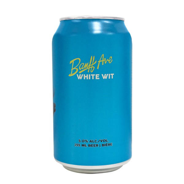 Banff Ave Brewing White Wit - 6 x 355mL