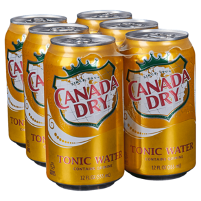 Canada Dry Tonic Water Mini Cans - 6 x 222mL