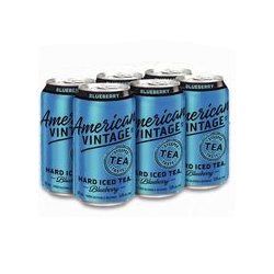American Vintage Blueberry Iced Tea 6pk
