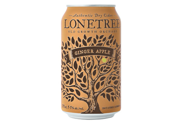 Lonetree Ginger Apple Cider - 6 x 355mL