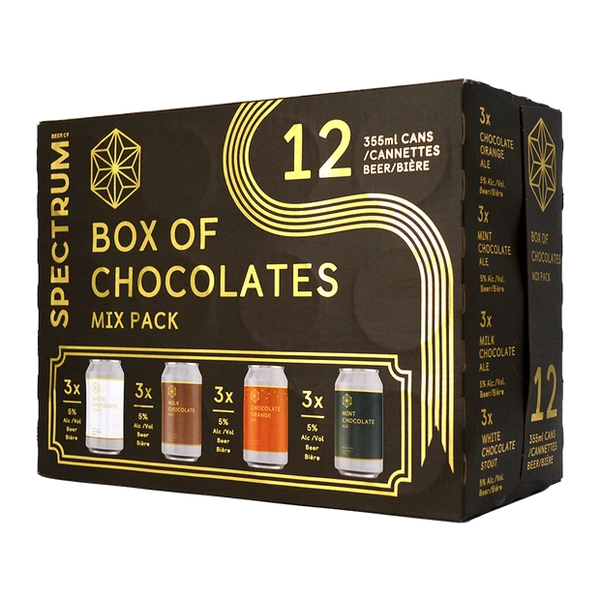 Spectrum Brewing Box of Chocolates Mix Pack - 12 x 355mL