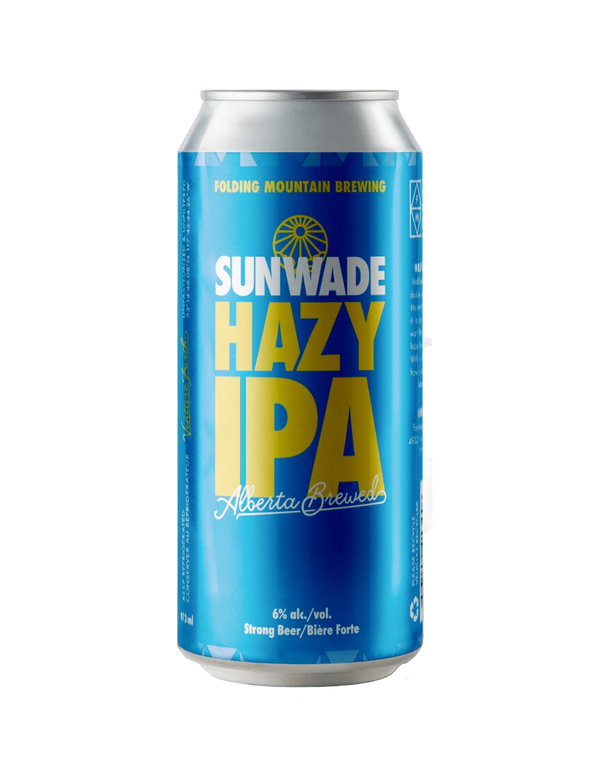 Folding Mountain Sunwade Hazy IPA - 4 x 473mL