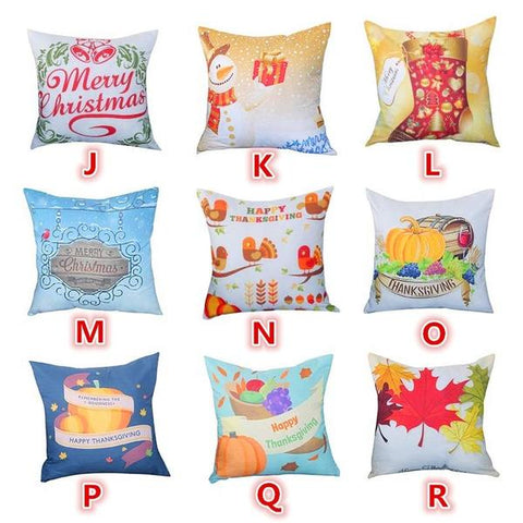 Christmas Festival Pillowcase