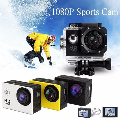 1080P Full HD Waterproof Sports DV Camera Action Camcorder Car Cam adventure uses