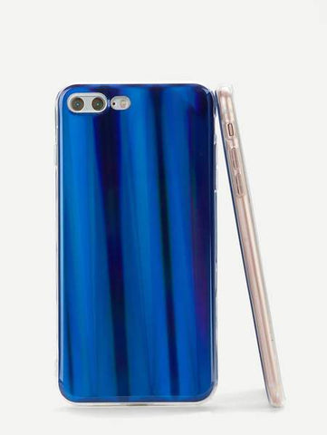 Blue Laser Design iPhone Case