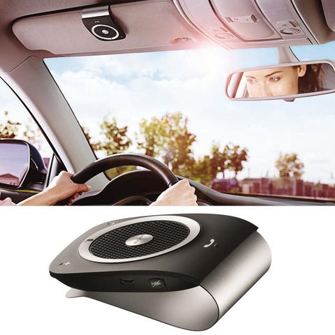 Super Slim Handsfree Wireless Built in Bluetooth Car Kit