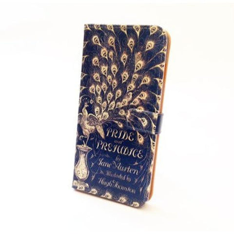Pride and Prejudice Book Phone Flip Case Wallet for iPhone and Samsung
