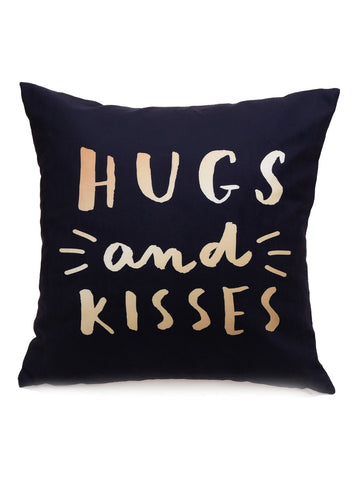 Hugs and Kisses Cushion Cover Pillowcase