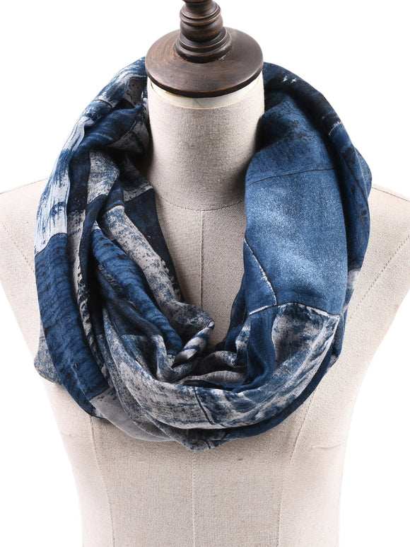 Men Infinity Scarf (Blue) - ISLAND63