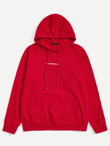 """DON'T NEED REASON"" Hoodie (Red) - ISLAND63"