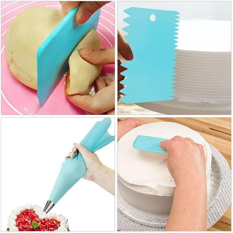 41pcs/set Cake Decorating Supplies With Rotating Turntable Accessories