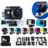 1080P Full HD Waterproof Sports DV Camera Action Camcorder Car Cam - ISLAND63