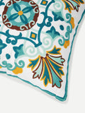 Flower Embroidery Cushion Cover - ISLAND63