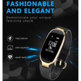 IP67 Waterproof Bluetooth Heart Rate Monitor Smartband Bracelet - ISLAND63