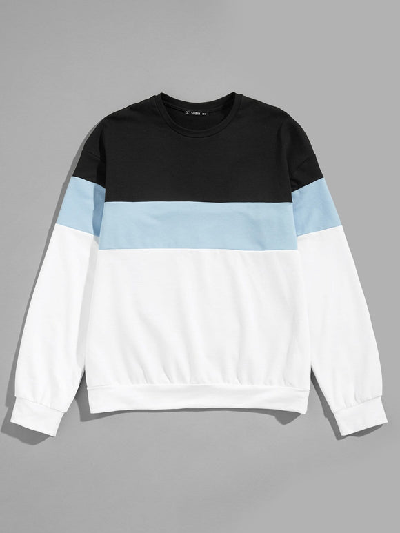 Russ Color-Block Pullover - ISLAND63