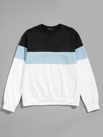 Russ Color-Block Pullover