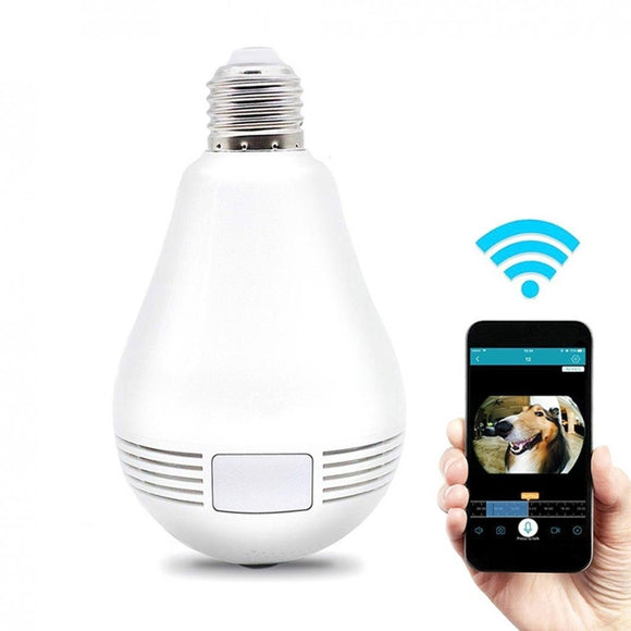 360 Degree WiFi Light Bulb Security Camera - ISLAND63