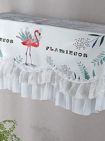 Flamingo Dust Proof Air Conditioner Cover