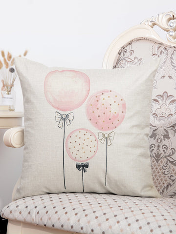 Balloon Print Cushion Cover Pillowcase