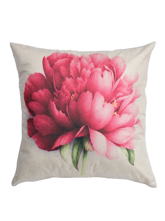 Flower Print Cushion Cover - ISLAND63